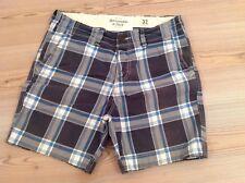 Abercrombie pantaloni corti shorts scozzesi tg.32