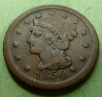 1850 Large Cent   #LC50-8 Very Nice Coin