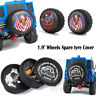"1.9"" Wheels Leather Spare Tire tyre Cover for 1/10 RC Crawler TRX-4 scx10 D90"