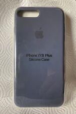 Original Apple iPhone 7 / 8 Plus Silikon Case in Mitternachtsblau