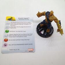 Heroclix Guardians of the Galaxy set Black Dwarf #046 Rare figure w/card!
