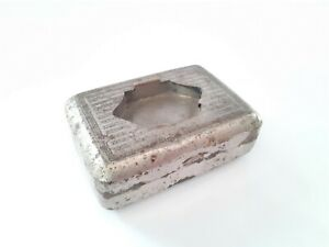 Vintage Box Pocket Ashtray Indian Outdoor ashtray Nice Collectible. G76-11 US
