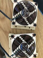 2 Noctua NF-A9x14 pWM With Fan Guards