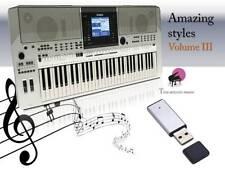 ''''PSR S910 USB-Stick+Song Styles VOLUME 3  NEW'''
