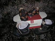 lot  chaussures NEUVES 20 bébé garçon CUIR GBB (catimini) val 75 eur + aprés ski