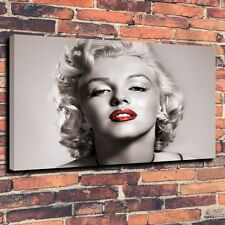 Art Print on Canvas Oil Painting Portraits Marilyn-Monroe Wall Decor (Unframed)
