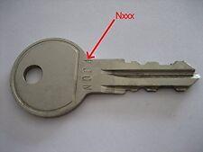 Ersatzschlüssel THULE alle  - ALLE möglichen Schlüssel IMMER am LAGER N001-N200