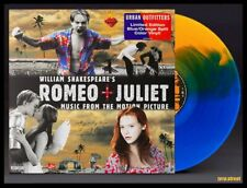 ROMEO + JULIET Soundtrack LP BLUE/ORANGE COLOR VINYL New SEALED /2000 DiCaprio