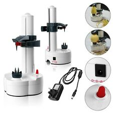 Automatic Electric Fruit Apple Pear Potato Peeler Cutter Slicer Kitchen Utensil