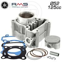 KIT RMS GRUPPO TERMICO CILINDRO PISTONE D. 52mm YAMAHA X-MAX 125 2008 - 2011
