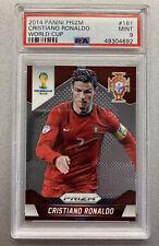 2014 Panini Prizm World Cup Cristiano Ronaldo #161 PSA 9 MINT | 1st Prizm