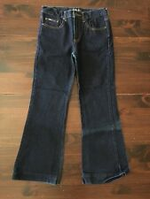 LEI Life Energy Intelligence Juniors Dark Wash Jeans Size 14 Boot Cut 26x25