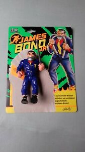 JAMES BOND JNR-JAWS ACTION FIGURE  with collector card + vintage  comic