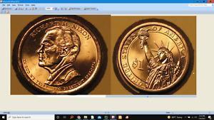 2016-P or D Richard M. Nixon Presidential Golden Dollar Coin