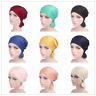 Muslim Women Stretch Ruffle Hijab Turban Head Wrap Islam Headwear Arab Chemo Cap