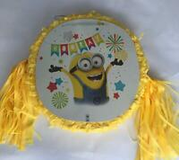 Minions Pinata..Party Game , Party Decoration FREE SHIPPING
