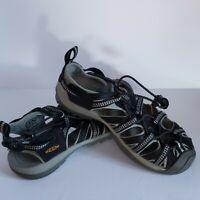 Women's KEEN Waterproof Sandals Size 7.5 Pre-owned EUC Black