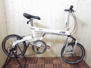 Riese & Müller Birdy BD-1 / Used folding bike / White color