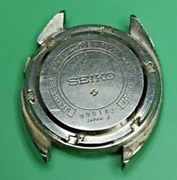 Vintage Seiko Bellmatic 4006 7000 Case and Case Back Parts (AA83)