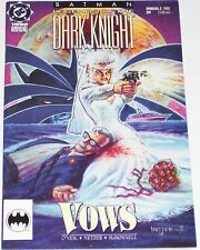 Batman: Legends of the Dark Knight Annual #2 from 1992 VF- to VF+