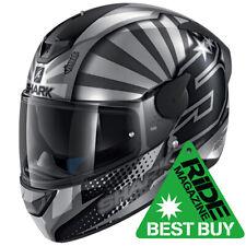 SHARK D-SKWAL 2 ZARCO 2019 MAT ASA Motorcycle Full Face Helmet ZE