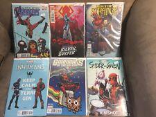 Deadpool Variant Lot of 6 (Avengers, Guardians, Surfer, Dr Strange, + more)