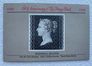 1990 Marshall Islands 150th Anniversary of the Penny Black Booklet. MNH.