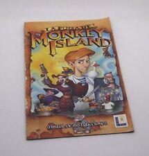 La foga de Monkey Island  manual de instrucciones ps2 playstation 2