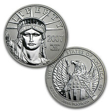 2007-W Proof Platinum American Eagle - 10th Anniversary 2 Coin Set - SKU #32963