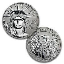 2007-W Proof Platinum American Eagle - 10th Anniversary 2 Coin Set - SKU #32963
