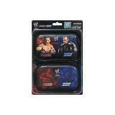 Twin pack official WWE wrestling red/blue 3DS NDS lite DS protective case cover