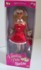 Barbie Doll Valentine Day Mattel Inc.1997 Date Cut Out Picture Frame on Back Nib