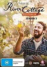 RIVER COTTAGE AUSTRALIA : SEASON 3  - DVD - UK Compatible - New & sealed