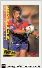 1996 Dynamic Rugby League Series 2 MVP Autographed Card --ANDREW JOHNS