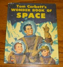 Tom Corbett's Wonder Book of Space, 1953, Frank Vaughn, Marcia Martin