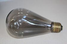 ANTIQUE LARGE DIAMETER AUSTRIAN BULB - WORKING - 115V 32CP N25 - 1930s?