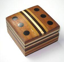 Inlaid box Dice/ Jewelry/ Storage Box/ Gift Box.USA Seller!!