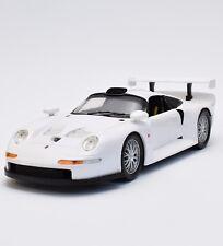 Anson 30392 Racing Porsche 911 GT1 Rennwagen in weiss lackiert, OVP, 1:18, K015