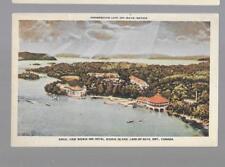 pk35473:Postcard-Aerial View Bigwin Inn Hotel,Bigwin Island,Lake of Bays,Ontario