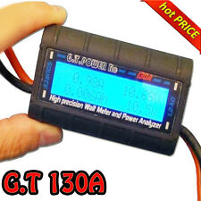 G.T.Power High Precision 130A Watt Meter and Power Analyzer Tester RC Model I