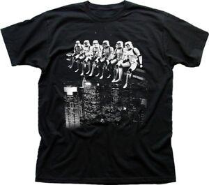 STAR WARS inspired Stormtrooper Construction tea break funny t-shirt 9772