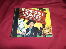 1950 Hopalong Cassidy Capitol Record Reader 45 RPM Western Old Cowboy Storybook
