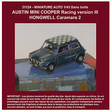 031124 MINIATURE AUTO 1/43 AUSTIN MINI COOPER Racing version III Hongwell