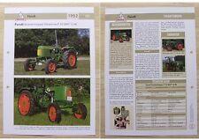 FENDT Traktor Schlepper Dieselross F 12 GH / F 12 HL 1952 Weltbild