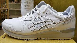Asics Men's Gel-Lyte III OG 1201A081-100 White Grey Shoes Size 9-11.5