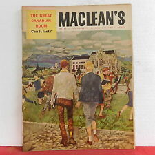 Maclean's Magazine The Great Canadian Boom British Columbia Campus March 31 1955