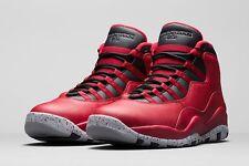 Nike Air Jordan Retro 10 X Bulls Over Broadway Gym Red 705178-601 Size 10