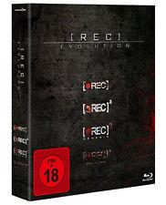 Rec Evolution -1,2,3,4 Teil - 4 Blu Ray Box - FSK 18