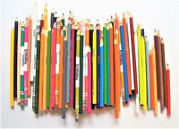 Lot of 97 Crayola Colored Pencils Some Erasable