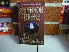 SHANNON DRAKE PARANORMAL ROMANCE - BENEATH A BLOOD RED MOON - COMBINE POSTAGE
